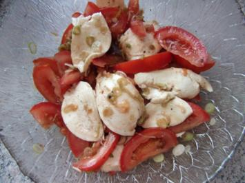 Tomate Mozzarella Dieter´s Art - Rezept