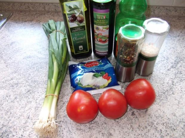 Tomate Mozzarella Dieter´s Art - Rezept - Bild Nr. 2