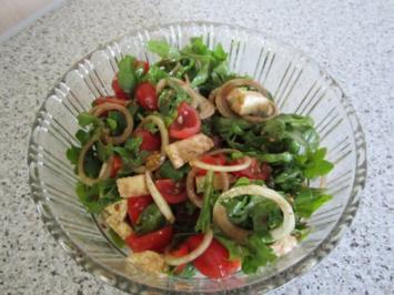 Rucola-Mozzarella-Salat - Rezept
