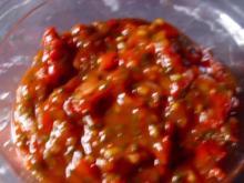 Scharfes Tomaten Relish - Rezept