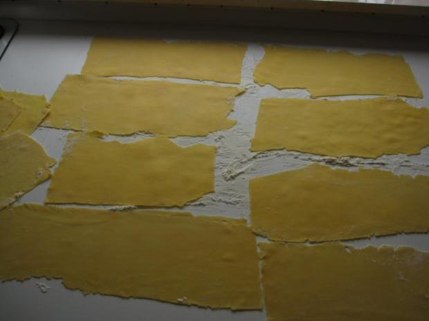 Raviolis mit Spinat-Käse-Füllung - Rezept - Bild Nr. 5