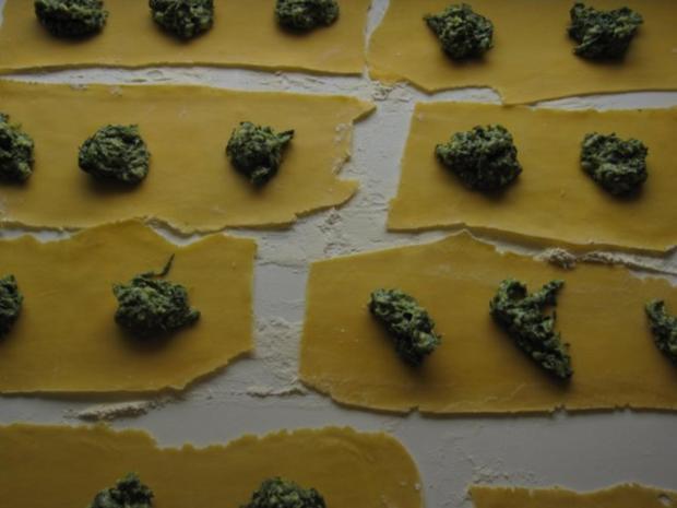 Raviolis mit Spinat-Käse-Füllung - Rezept - Bild Nr. 8