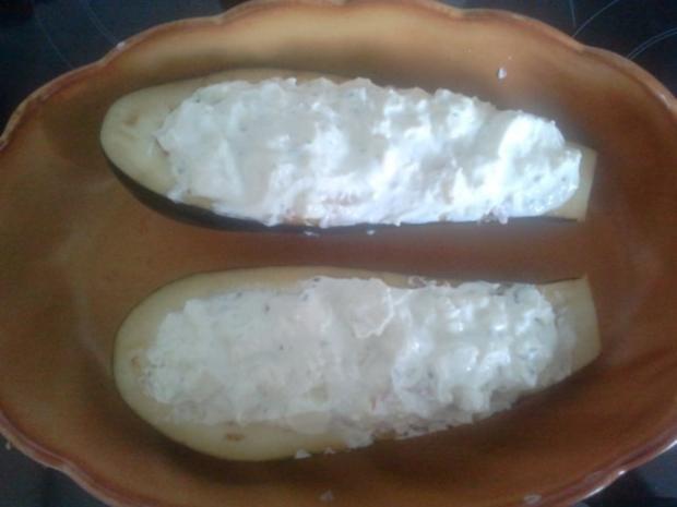 gefüllte Auberginen - Rezept - Bild Nr. 4