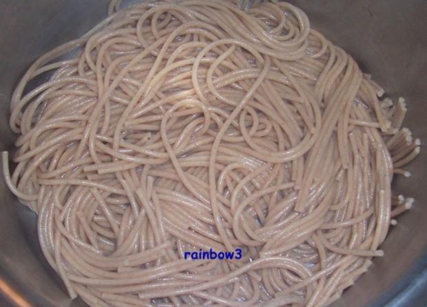Kochen: Lachs in Käsesauce zu Spaghetti - Rezept - Bild Nr. 3
