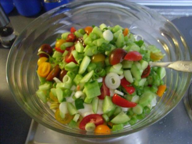 Tortellini Salat - Rezept - Bild Nr. 5