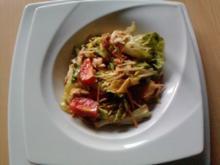 Mediterraner Asia - Thunfisch - Salat - Rezept