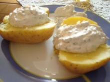 Kräuterquark zu Folienkartoffeln - Rezept