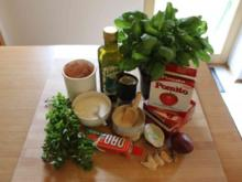 Tomatensoße - Rezept