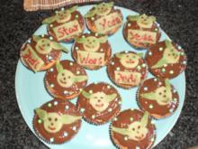Star Wars Joda Muffins - Rezept