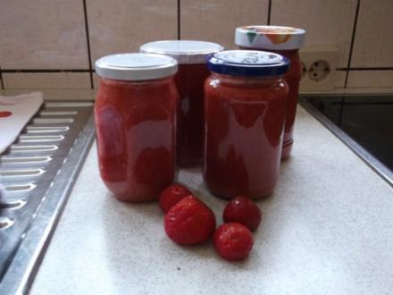 Erdbeer-Banane-Vanille-Marmelade - Rezept