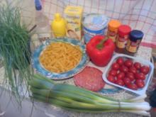 Nudelsalat Spezial - Rezept
