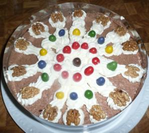 Geburtstagstorte (zum 4.Geburtstag) - Rezept