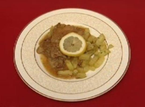 Kalbfleisch in Zitronensauce (Mirja du Mont) - Rezept