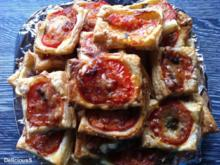 Blätterteig - Tomaten - Ecken - Rezept