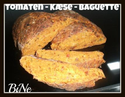 BiNe` S TOMATEN - KÆSE - BAGUETTE - Rezept