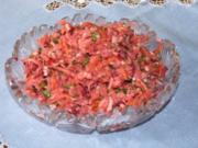 Salat: Scharfer Krautsalat - Rezept
