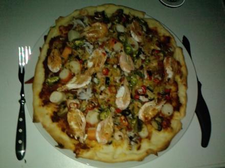 Pizza - zum-Fingerablecken oder ....und - es - geht - doch-Pizza - Rezept