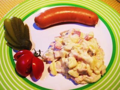 Leichter Kartoffelsalat ... - Rezept