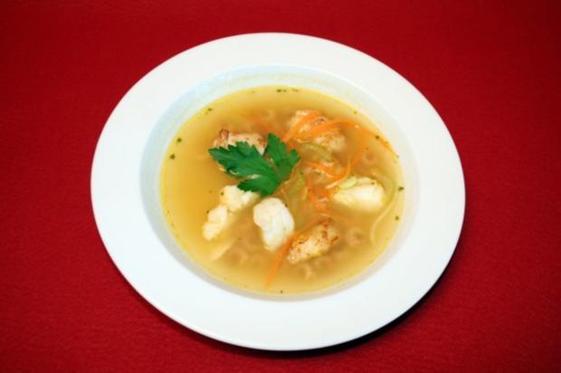 Leichte Fischsuppe - Rezept
