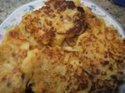 Kartoffeln: Sauerkraut-Baggers - Kartoffelplätzchen mit Sauerkraut - Rezept