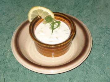 Dip/Sauce - Joghurt-Zitronen-Dill-Dip - Rezept