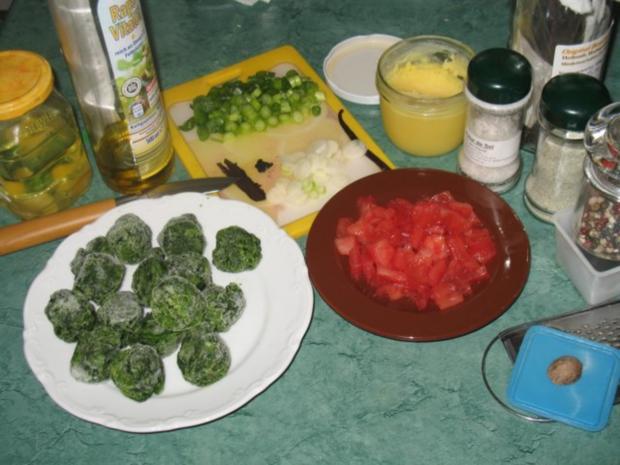 Gemüse - Tomaten-Blattspinat mit Vanille - Rezept - Bild Nr. 2