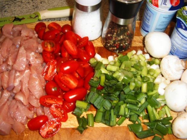 Puten-Tomaten-Kuchen - Rezept - Bild Nr. 2