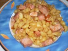 Kassler-Mini Pipe Rigate - Rezept