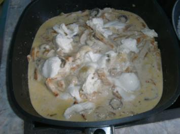 Puten-Champignon-Geschnetzeltes - Rezept
