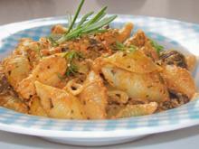 Pasta: Conchiglie mit Thunfisch-Walnuss-Pesto - Rezept