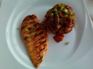 Hot Vegetable Hill with grilled Chicken - Rezept