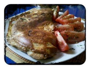 Eier: Waldpilzomelett - Rezept