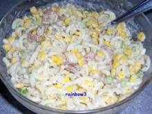 Salat: Nudelsalat mit Fleisch - Rezept