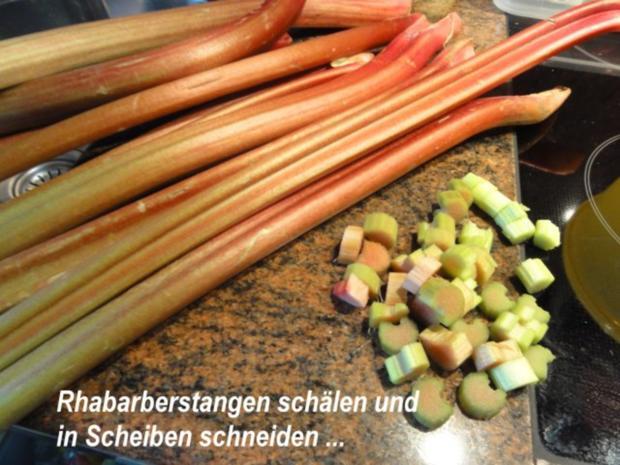 Rührteig:   RHABARBER - STREUSEL - KUCHEN - Rezept - Bild Nr. 2
