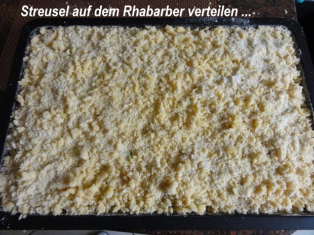 Rührteig:   RHABARBER - STREUSEL - KUCHEN - Rezept - Bild Nr. 6