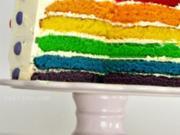 Regenbogen Kuchen - Rezept