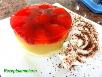 Rezept: Dessert:   ERDBEER - RHABARBER - TÖRTCHEN