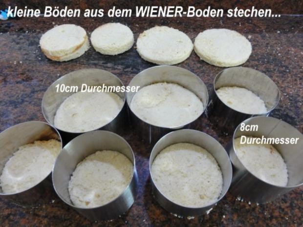 Dessert:   ERDBEER - RHABARBER - TÖRTCHEN - Rezept - Bild Nr. 3