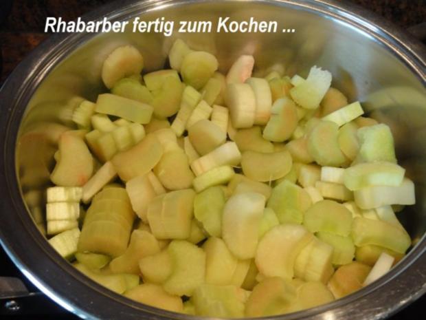 Dessert:   ERDBEER - RHABARBER - TÖRTCHEN - Rezept - Bild Nr. 4