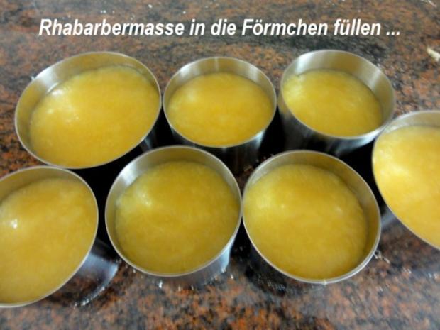 Dessert:   ERDBEER - RHABARBER - TÖRTCHEN - Rezept - Bild Nr. 6