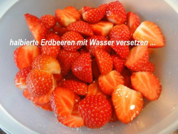 Dessert:   ERDBEER - RHABARBER - TÖRTCHEN - Rezept - Bild Nr. 7