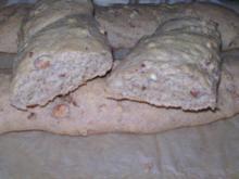 Dinkel-Haselnuss-Stangen - Rezept