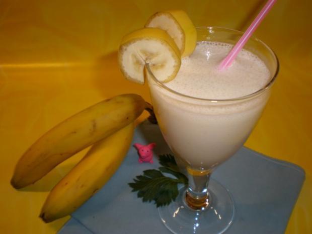Bananen-Milchshake - Rezept