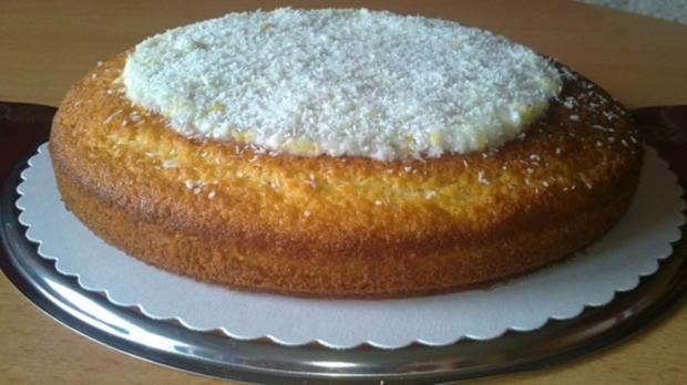 Zitronen Kokos Kuchen Rezept Mit Bild Kochbar De