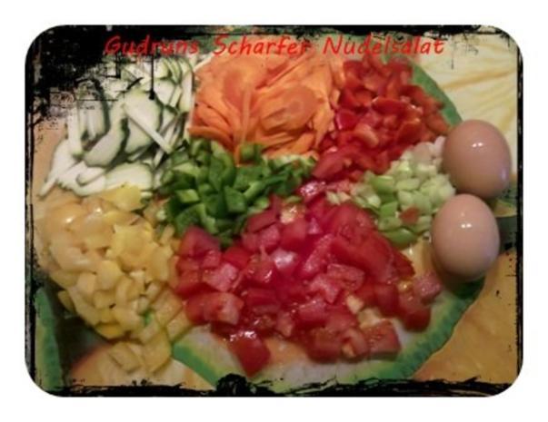 Salat: Scharfer Nudelsalat - Rezept - Bild Nr. 8
