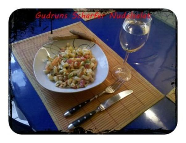 Salat: Scharfer Nudelsalat - Rezept - Bild Nr. 11
