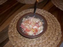 Chicoree, Lachs, Grapefruit Salat - Rezept