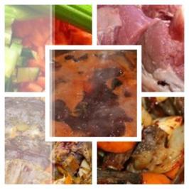 Rezept: Bratenfond für dunkle Sossen à la Biggi