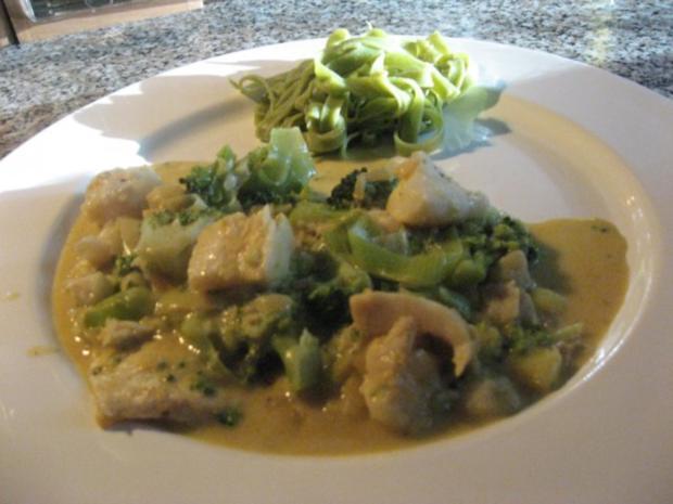 Brokkoli-Fisch-Ragout - Rezept
