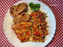 Gemüse mediterran geschmort - Rezept